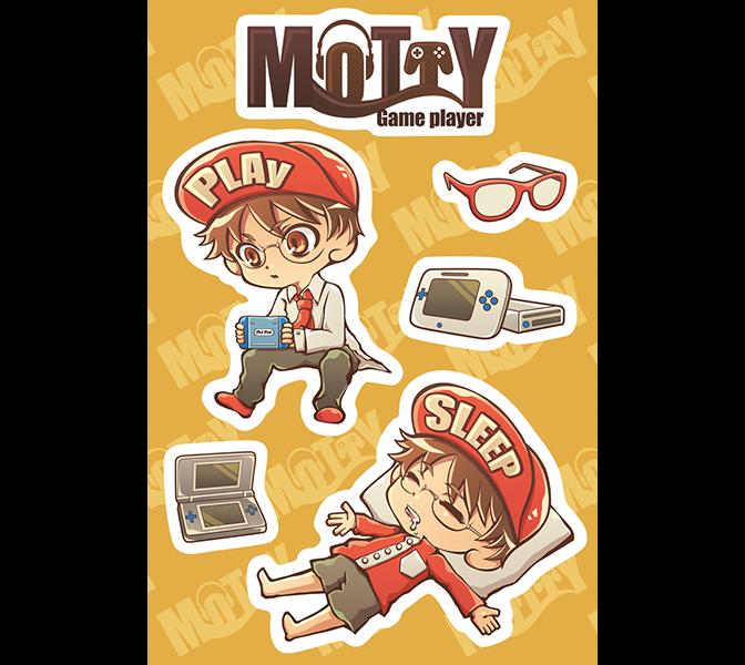 Mortyさんステッカー(ゲーム)