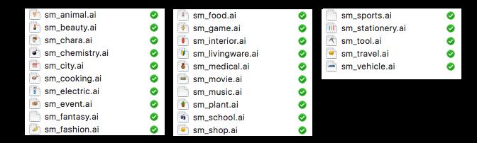 AIデータのカテゴライズ
