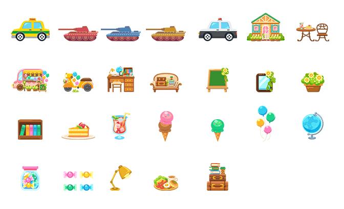 2019年4月に更新したイラスト素材一覧