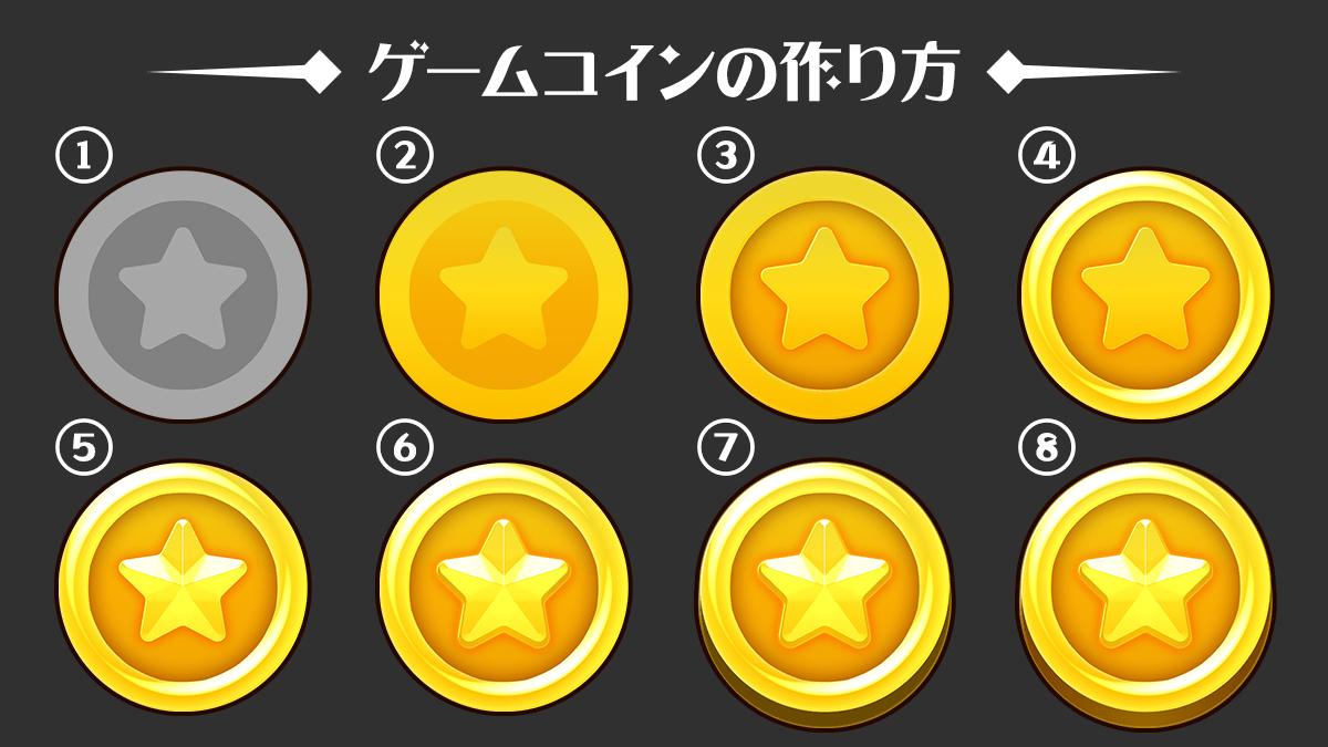 ゲームコインの作り方